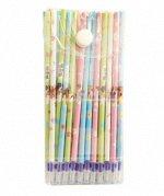 Набор: ручка гелевая ПИШИ-СТИРАЙ+20 стержней для ручки+ластик