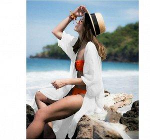 Кардиган пляжный цвет; БЕЛЫЙ