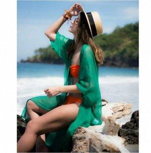 Кардиган пляжный цвет; ЗЕЛЕНЫЙ