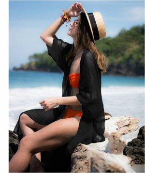 Кардиган пляжный цвет; ЧЕРНЫЙ