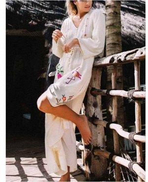 Платье пляжное цвет; НА ФОТО