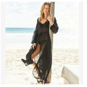 Платье пляжное цвет; ЧЕРНЫЙ