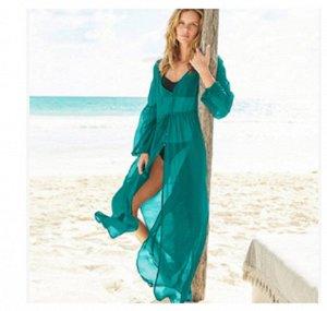 Платье пляжное цвет; ГОЛУБОЙ