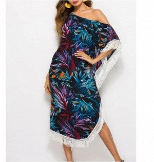 Платье пляжное цвет; №2