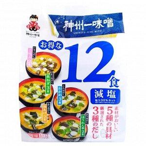 Мисо суп MIYАSAKA б/п малосоленый (12 порций), 181,1 гр СРОК ГОДНОСТИ ДО 20.04.2021