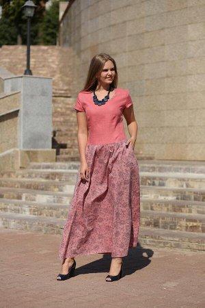 Платье Малина