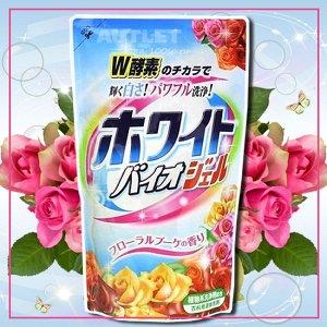"""""""Nihon Detergent"""" Жидкое средство для стирки белья (с отбеливающим и смягчающим эффектами, мягкая упаковка), 1,62 кг., 1/6"""