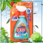 """""""Nihon Detergent"""" Очищающая спрей-пена для удаления масляных загрязнений на кухне ( в т.ч. нагоревшего жира), запасной блок"""