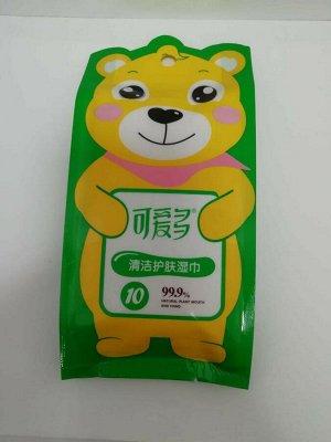 """Влажные салфетки """"Koido"""" с витамином С"""