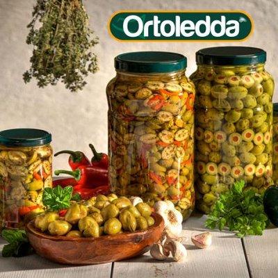 Итальянские продукты поштучно — Консервы овощные в масле Ortoledda — Овощные и грибные