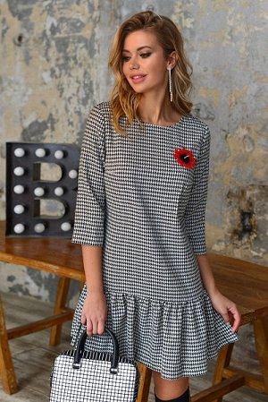 Креативное и эффектное платье мини