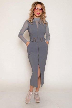 САРАФАН Ткань: костюмная мягкая, средней плотности, эластичная, со средним стрейчевым эффектом. Не просвечивает. Состав: полиэстер 94%, спандекс 6% Нарядное платье-сарафан из костюмной ткани со средни