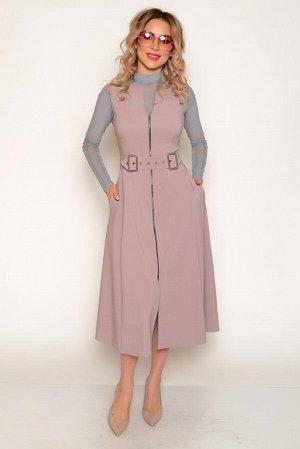 """Сарафан Ткань тонкая костюмная со средним стрейчевым эффектом (тянется). Состав: полиэстер 94 %, спандекс 6%. Нарядное платье-сарафан в стиле """"ретро"""", приталенное, длиной """"миди"""", с отрезной  расклешон"""