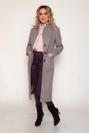 ПАЛЬТО Основная ткань: костюмная на трикотажной плотной основе с фактурой букле. Теплая, мягкая, плотная, с незначительным ворсом (имитация узелкового плетения), немного тянется. Состав: полиэстер 70%