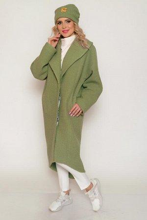 """Пальто Основная ткань: костюмная (для пальто) """"букле"""" на трикотажной основе. Плотная, легкая, ворсистая, с хаотичными мелкими завитками под каракуль, тёплая. Состав: полиэстер 100% Подкладочная ткань:"""