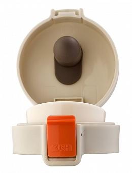 Термос-кружка Biostal NMT-400W CROSSTOWN (шампань) 0,4 л