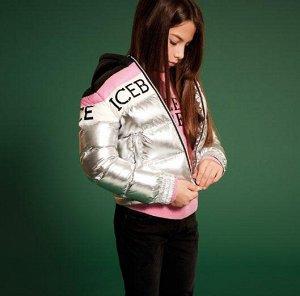 Пуховик Ice Berg для модной девчонки.