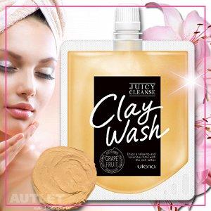 """Juicy Cleanse"" Пенка для умывания на основе глины для придания сияния коже, с ароматом грейпфрута"