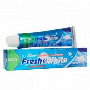 """LION """"Фреш энд Вайт"""" Зубная паста 160гр """"Extra Cool Mint"""" мятная прохлада"""