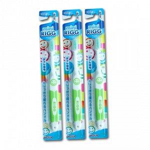 Зубная щетка (для детей от 3-х лет. С комбинированным ворсом и прорезиненной ручкой)