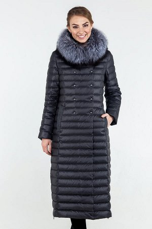 Пальто зимнее р.44 цвет темный изумруд. Классное