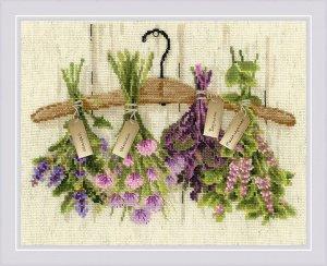 1717 Пряные травы вышивка крестом