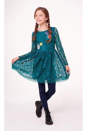 #56155 Платье Зеленый