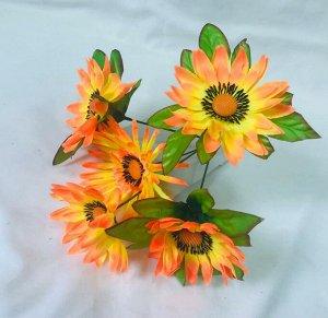 Цветы искусственные (букет из 5 цветов)