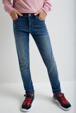 Брюки джинсовые детские для девочек Ban синий