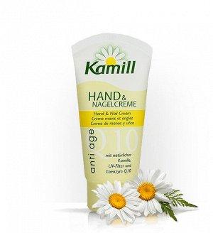 Kamill Крем для рук и ногтей ANTI AGE Q10 антивозрастной  75 мл в тубе (био ромашка, вит.Е),  931658