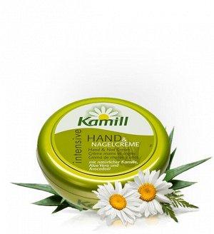 Kamill Крем для рук и ногтей INTENSIVE 150 мл в банке (био ромашка, алоэ, масло авокадо), 930453