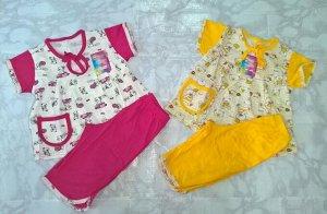 Кармашек пижама для девочки