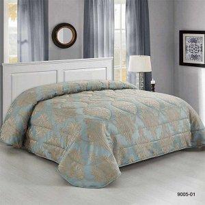 """Покрывало Покрывало 220*240 Сорренто Делюкс м2003 голубой 9005-01 Красивое покрывало """"Sorrento Deluxe"""" обязательный атрибут роскошной спальни! Истинная классика итальянского стиля и очарование Вашего"""