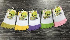 Детские носки с пальцами 1 пара