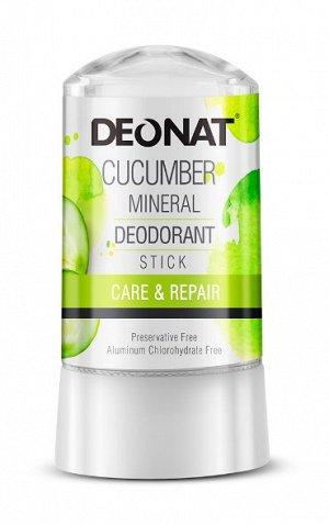 Дезодорант-Кристалл  DeoNat с экстрактом огурца, стик, 60 гр.