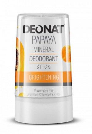 Дезодорант-Кристалл DeoNat с экстрактом папайи, стик 40 гр.