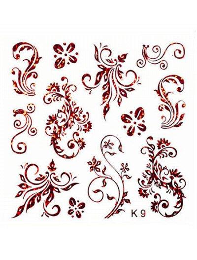 Модный маникюр  MILV — Слайдер дизайн(K) — Дизайн ногтей
