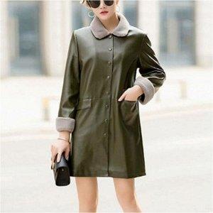 Куртка утепленная женская цвет; ТЕМНО-ЗЕЛЕНЫЙ