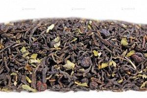 Чай черный ароматизированный фасованный Чай с черникой