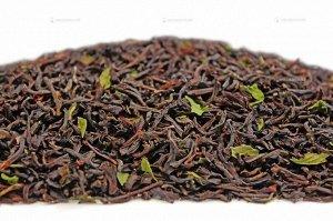 Чай черный ароматизированный фасованный Черный с мятой