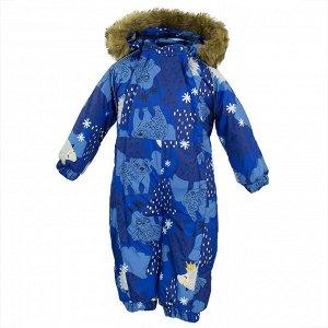 31920030-83335-062 Комбинезон для малышей KEIRA, синий с принтом 83335