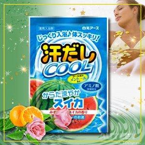 """""""Asedashi COOL"""" Освежающая соль для ванны с экстрактом люффы"""