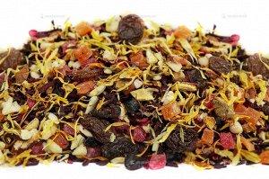 Чай фруктовый фасованный с добавлением растительного сырья Альпийский глинтвейн