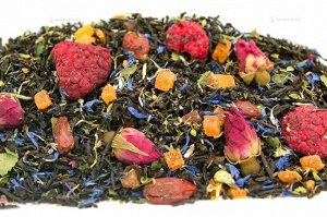 Чай черный ароматизированный фасованный Малиновый сон