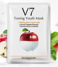 Витаминная тканевая маска с экстрактом яблока