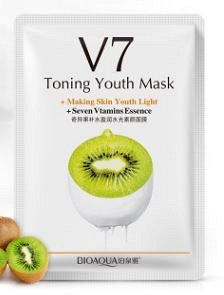 Витаминная тканевая маска с экстрактом киви