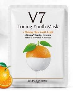 Витаминная тканевая маска с экстрактом апельсина