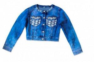 Куртка джинс для девочек