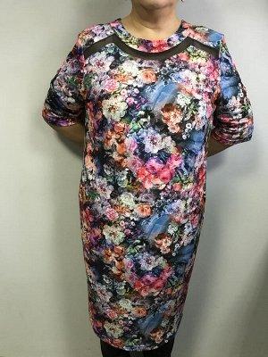 Платье Платье летнее цветы Forum. Южная Корея. Полиэстер/вискоза.