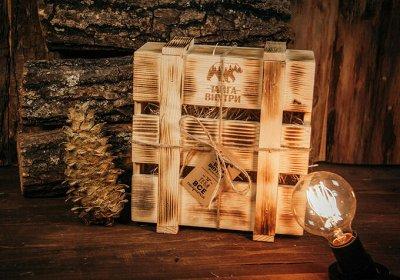 🌲ТайгаВнутри. Мед, сиропы - шиповник, чага, облепиха и пр. — Подарочная упаковка — Продукты питания